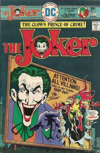 The Joker meets the Creeper in the Crazy Laughing Outhouse Rat Nutcase Olympics - The Joker #3