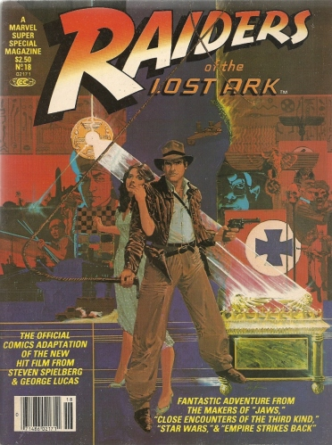 "Throw me the comic, I throw you the whip - Marvel Super Special #18, ""Raiders of the Lost Ark"""