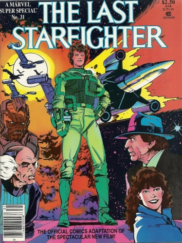 "DEPLOY THE DEATH BLOSSOM - Marvel Super Special #31, ""The Last Starfighter"""
