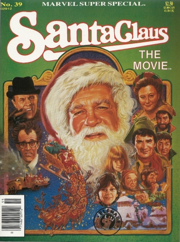 "Come play with us, Santa. Forever. And ever. And ever. - Marvel Super Special #39, ""Santa Claus: The Movie"""