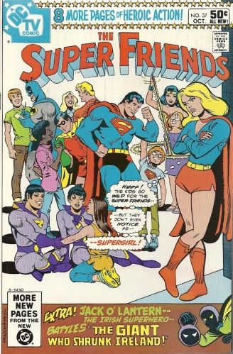 Aquaman's HUGE RACK, Supergirl's jealousy, and obligatory St. Patrick's Day material - The Super Friends #37