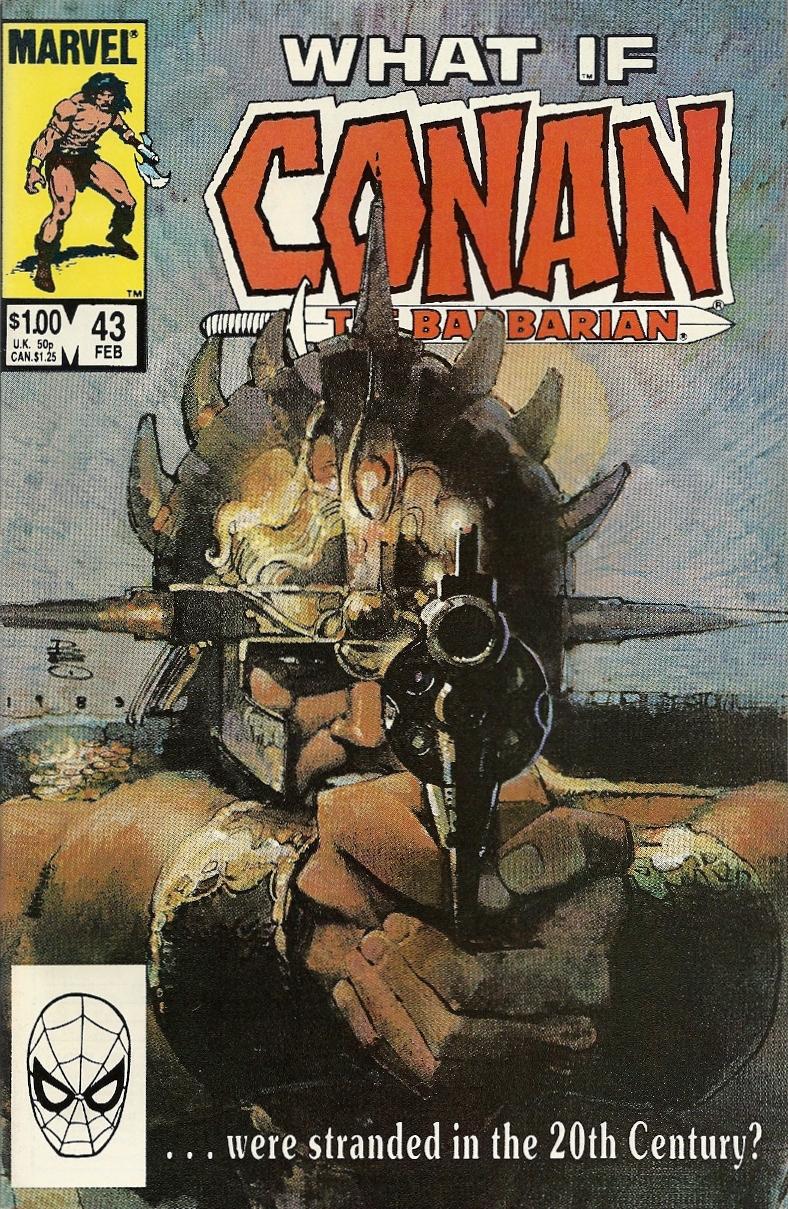 Hey, Conan has a gun OH MY GOD CONAN HAS A GUN – What If? #43   blog into mystery