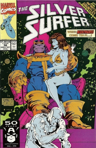 OH GOD, THANOS MADE NORRIN RADD HIS SEX SLAVE - The Silver Surfer #56