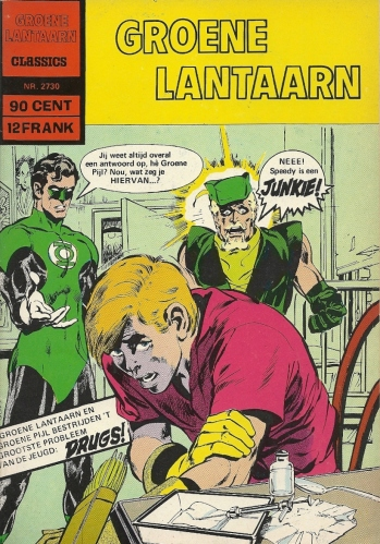 Today's Lesson: Speedy's drug addiction saga is infinitely more depressing when it's in Dutch - Groene Lantaarn Classics #2730