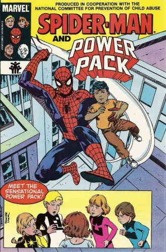Peter Parker was molested as a boy. FACT. I got misty-eyed reading this. FACT. - Spider-Man and Power Pack