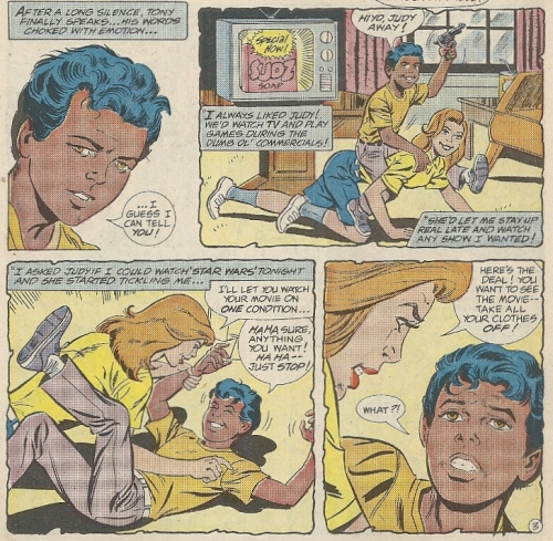 Peter Parker was molested as a boy  FACT  I got misty-eyed reading
