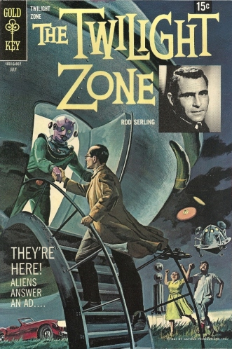 Rod Serling's dimension not only of sight and sound but of mind also has ample room for goofy aliens - Twilight Zone #26