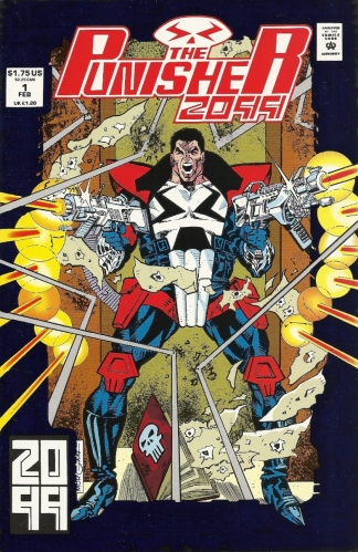 Let's have some fun and compare and contrast terrible derivative characters (Part 1) - The Punisher 2099 #1