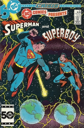 The thing about Superboy-Prime's first appearance? It's actually a nice little story. - DC Comics Presents #87