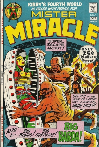Kirby's best Fourth World character? BIG BARDA. - Mister Miracle #4