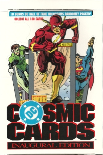 Trading Card Set of the Week - DC Cosmic Cards: Inaugural Edition (1992, Impel)