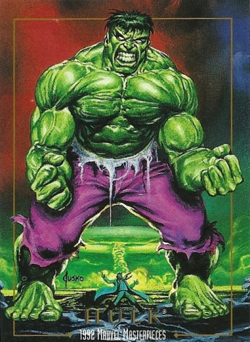 Trading Card Set of the Week - Marvel Masterpieces (SkyBox, 1992)