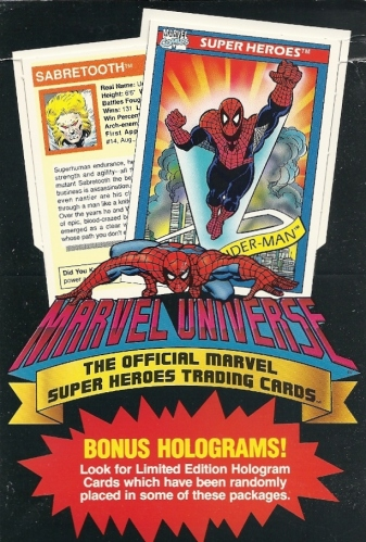 Trading Card Set of the Week - Marvel Universe (Impel, 1990)