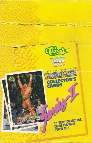 Trading Card Set of the Week - The History of WrestleMania (Classic, 1990)