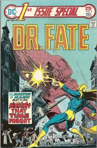 Joe Kubert. Walt Simonson. The senses-shattering origin of Dr. Fate. BE THERE. - 1st Issue Special #9