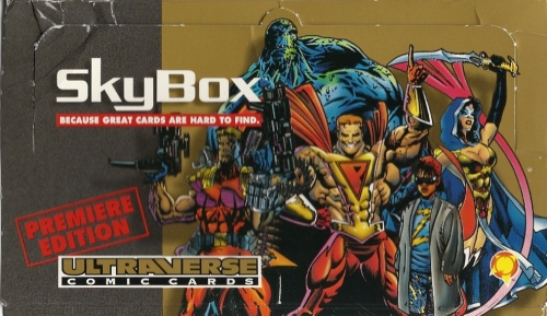 Trading Card Set of the Week - Ultraverse (SkyBox, 1993)