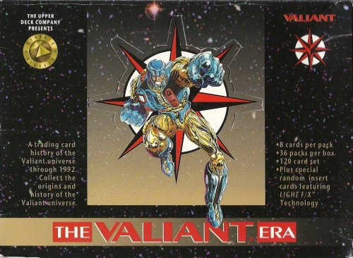 Trading Card Set of the Week - The Valiant Era (Upper Deck, 1993)