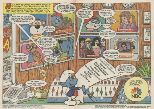 Your 1986-87 NBC Saturday morning cartoon lineup, now with 100% more unwatchable crap!