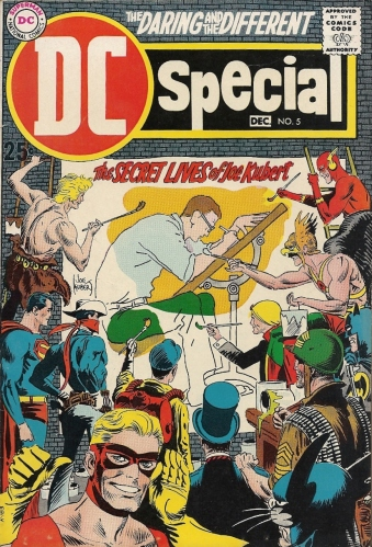 This 1969 Joe Kubert tribute comic will make you love the man even more - DC Special #5