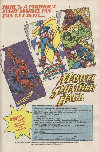 marvelslumberbag