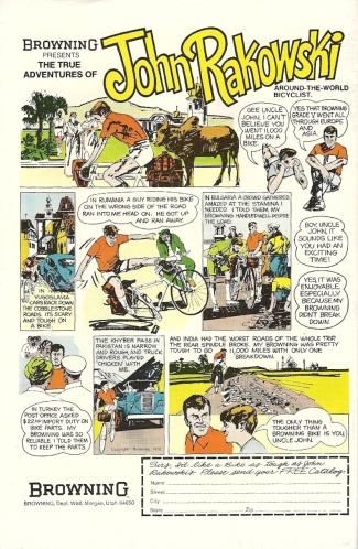 John Rakowski: Bike Tourist Extraordinaire
