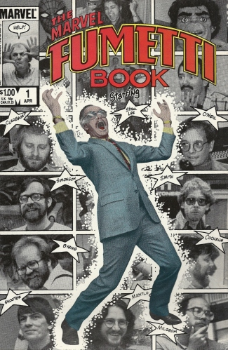 The nutty offices of Marvel, in photonovel form - The Marvel Fumetti Book #1
