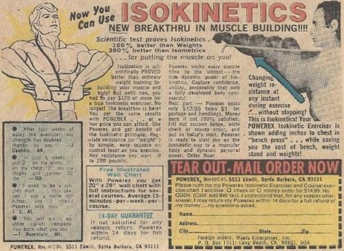 isokinetics