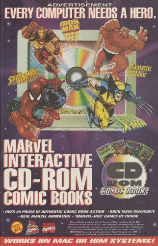 Enjoy your Marvel Interactive CD-ROM Comic Books! (If you still have a disc drive, that is!)