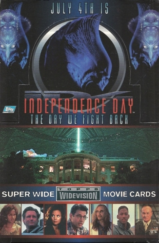 Trading Card Set of the Week - Independence Day (1996, Topps Widevision)