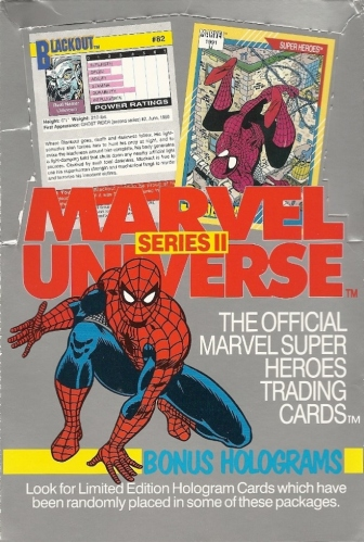 Trading Card Set of the Week - Marvel Universe Series II (1991, Impel)