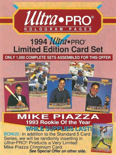 Sunday Stupid Mike Piazza And Ultra Pro Get Goofy Blog