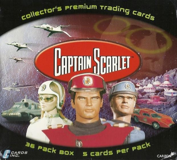 CARDS INC 2001 CAPTAIN SCARLET 72 CARD BASE SET