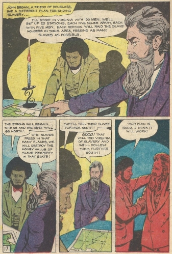 Frederick Douglass and John Brown