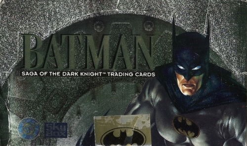 Batman Saga of the Dark Knight cards