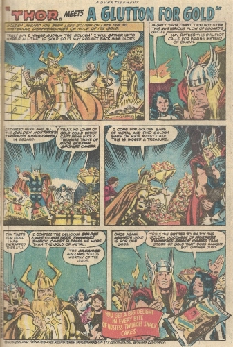Thor Twinkies ad