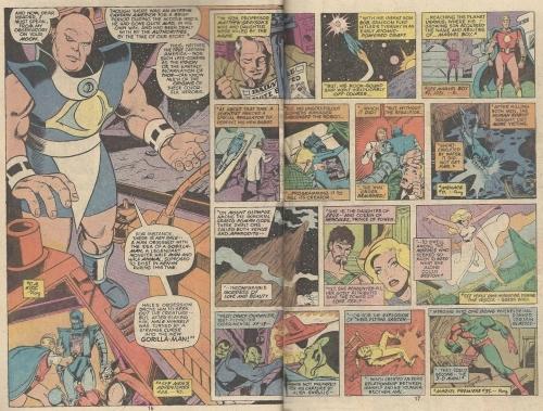 Uatu Avengers origins