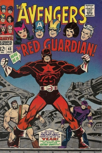 Avengers Red Guardian