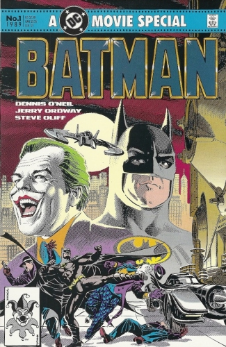 Batman movie comic