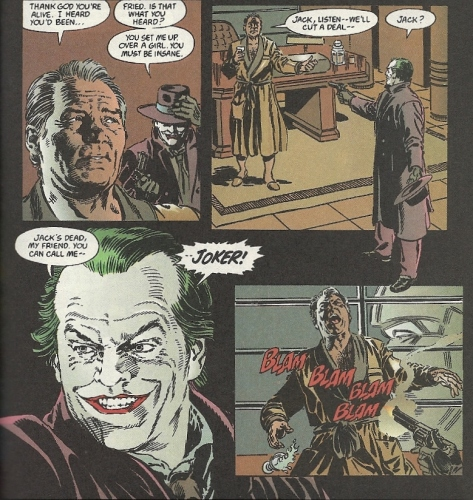 Batman movie Joker first appearance