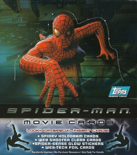 Spider-Man movie cards Topps