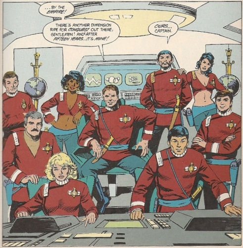 Star Trek Mirror Universe Crew
