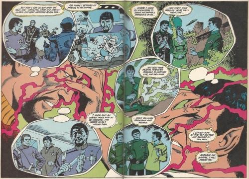 Spock vs. Mirror Universe Spock