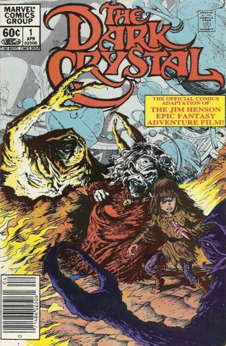 Dark Crystal comic cover