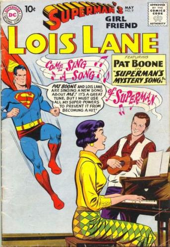 Superman Lois Lane Pat Boone