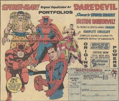 Marvel unpublished art portfolio
