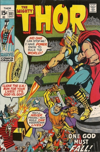 Thor attacks the United Nations