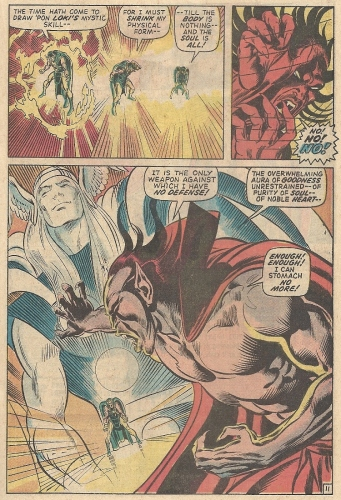 Thor and Mephisto